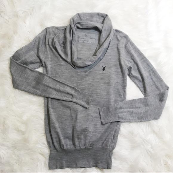 0fd5ede233f All Saints Sweaters - All Saints Spitalfields Scoop Neck Merino Sweater